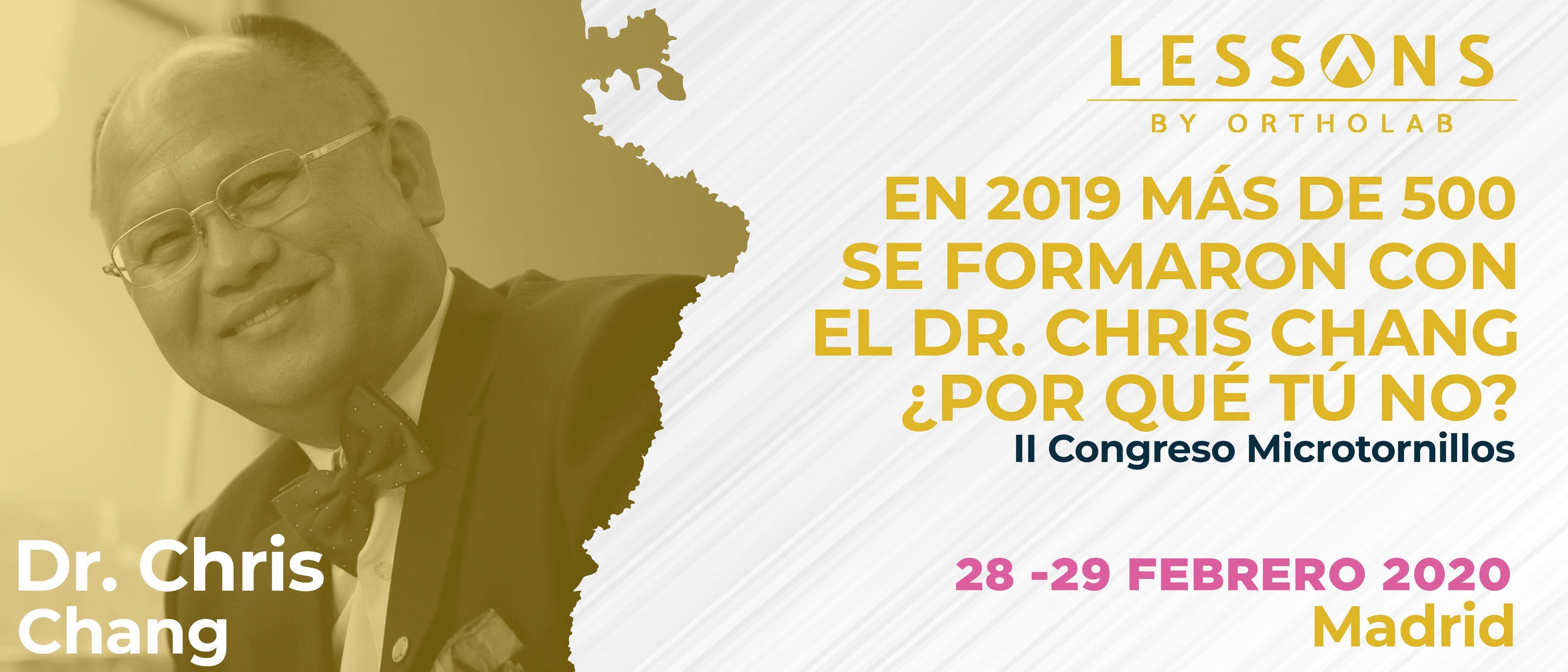 Chris Chang 2 Congreso Microtornillos OBS Madrid curso formacion